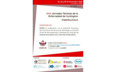 XVIII Jornadas Técnicas Anuales de la Enfermedad de Huntington (Jornadas Online)